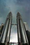 Menara Berkembar Petronas Fotografie Stock Libere da Diritti