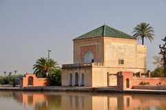 Menara Garden, Marrakech royalty free stock photos