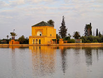 Menara gardens in Marrakech, Morocco Royalty Free Stock Photography