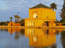 Menara gardens in Marrakech, Morocco Stock Photography