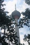 Menara KL torn Arkivbild