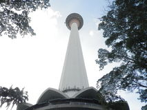 Menara KL Tower. Picture of Menara Kuala Lumpur Tower Royalty Free Stock Photos