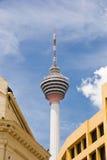 Menara Kontrollturm, Kuala Lumpur, Malaysia Stockfotos