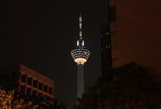 Menara Kuala Lumpur Foto de archivo libre de regalías