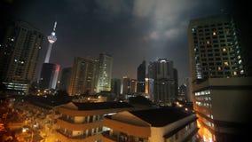 Menara Kuala Lumpur stock video