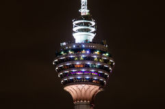Menara Kuala Lumpur - torre de la TV Fotos de archivo libres de regalías