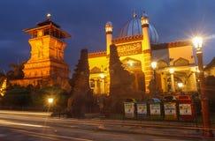 Menara Kudus - мечеть башни Kudus Стоковые Фотографии RF