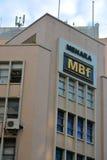 Menara MBf facade in Kota Kinabalu, Malaysia Stock Image