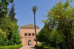 Menara parc in Marrakech-Morocco Royalty Free Stock Photos