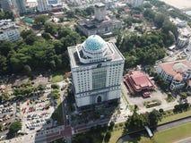 Menara-tabung Haji in Johor Bahru Malaysia lizenzfreie stockfotos