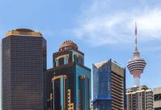 Menara television tower Kuala Lumpur, Malaysia Stock Image