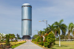 Menara tunna Mustapha (Sabah fundamentbyggnad) Royaltyfria Foton