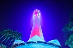Menara-Turm in Kuala Lumpur Stockbild