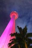Menara tv tower at Kuala Lumpur (Malaysia). Architecture background Royalty Free Stock Photography