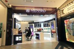 Menard shoppar i Hong Kong royaltyfria bilder