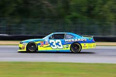 Menards NASCAR Chevrolet race car Stock Photo
