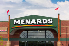 Menards Store Exterior Royalty Free Stock Image