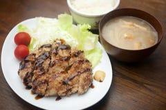 Menchi katsu Stock Photo