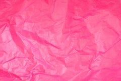 Menchia Tkankowego papieru Zmięta tekstura obrazy stock