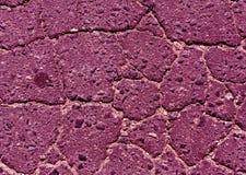 Menchia tonująca uszkadzająca asfaltowej drogi tekstura Obrazy Stock
