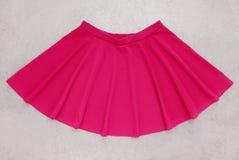 Menchia zgłębiająca jest, spódnica ciemnopąsowego colour Zdjęcie Royalty Free