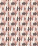 Menchie i popielaty geometryczny bezszwowy diamentu wzór ilustracja wektor