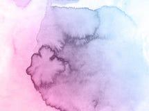 Menchii i błękitnych kwiatów bożych narodzeń akwareli kreatywnie tło, piękna planeta ilustracja wektor