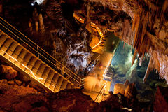 Mencilis cave in Turkey Royalty Free Stock Photography