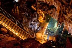 Mencilis grotta i Turkiet Royaltyfri Fotografi