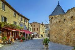 Mencione de Carcassonne, França imagens de stock