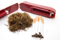 Mend tobacco and darning appliance Royalty Free Stock Photography