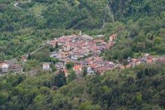 Mendatica. Liguria region, Italy royalty free stock photo