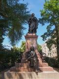 Mendelssohn Denkmal Leipzig Foto de Stock