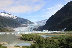 Mendenhal Glacier Royalty Free Stock Images