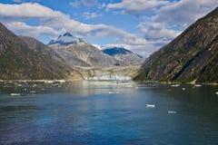 Mendenhall glaciär 2 royaltyfri foto