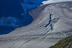 Mendenhall glaciär fryst X Royaltyfri Fotografi