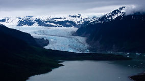 Mendenhall Glacier Royalty Free Stock Images