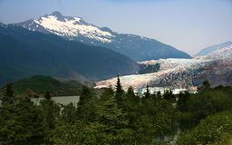 Mendenhall Glacier, Alaska Royalty Free Stock Photography