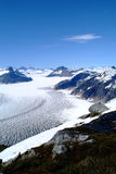 Mendenhall glacier, Alaska. The beautiful view of Mendenhall Glacier in Juneau, Alaska Stock Photography