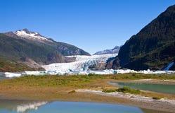 Mendenhall Glacier in Alaska Royalty Free Stock Image