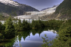 Mendenhall Glacier, Juneau Royalty Free Stock Photography