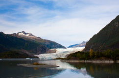 Mendenhall Glacier Juneau Alaska Royalty Free Stock Photo