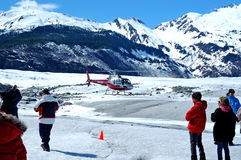 Mendenhall Glacier, Juneau Royalty Free Stock Photos