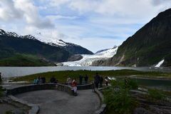 Mendenhall Glacier stock photos