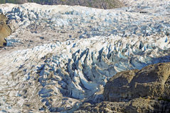 Mendenhall Glacier near Juneau, Alaska Stock Photos
