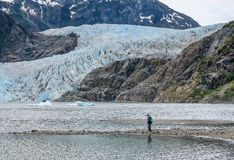 Mendenhall Glacier royalty free stock photos