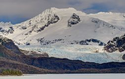 Mendenhall Glacier and Towers Stock Photography