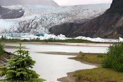 Mendenhall Gletscher Stockfoto
