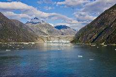 Mendenhall-Gletscher 2 Lizenzfreies Stockfoto