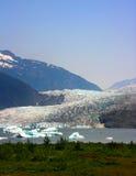 Mendenhall Gletscher, Alaska Lizenzfreie Stockfotos